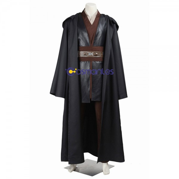 Anakin Skywalker Cosplay Costume Star Wars Cotton Fabric Suit
