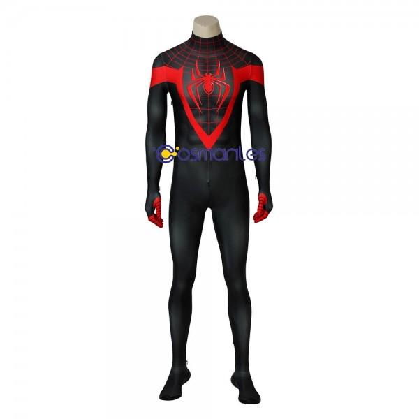 Miles Morales Spiderman Cosplay Costume Ultimate Spider-Man Suit