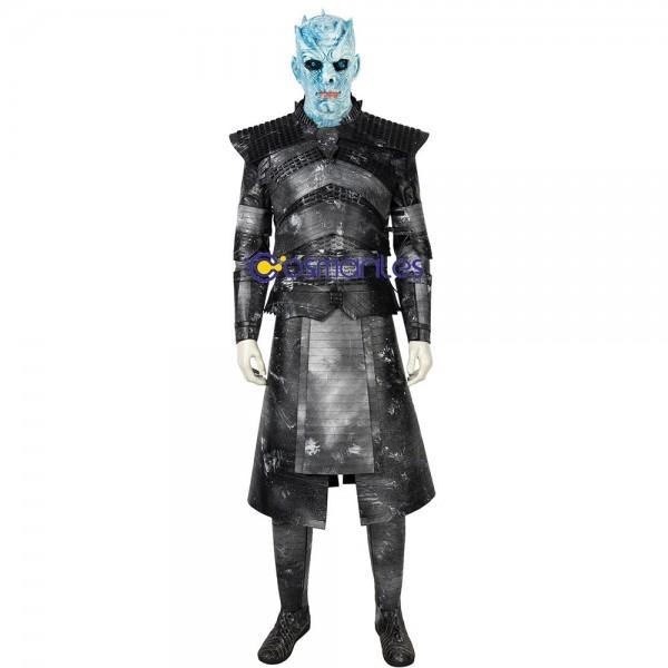GOT S8 Night King Suit Halloween Cosplay Costumes