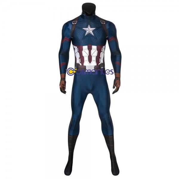 Captain America Cosplay Bodysuit Steve Rogers Zentai