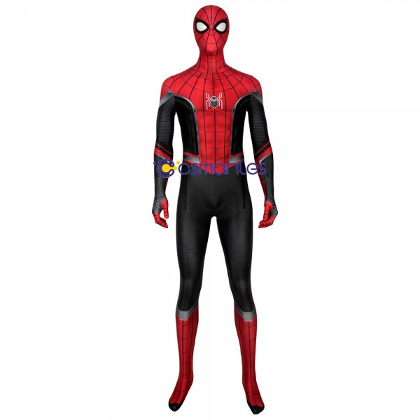 Spider-man Suit Far From Home Black and Red Spider Cosplay Suit