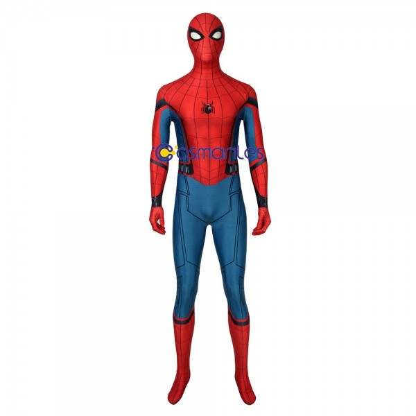 Spider-man Peter Parker Cosplay Suits 3D Printed BodySuits Deluxe