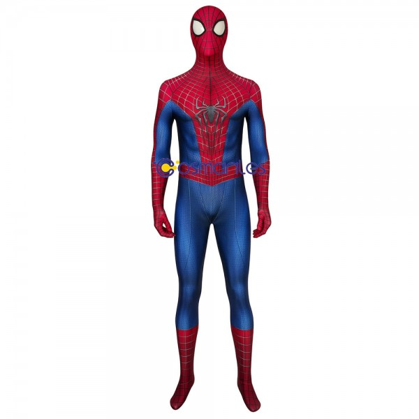Peter Paker Spider-man Cosplay Suit The Amazing Spider-man Spandex Printed Cosplay Costume