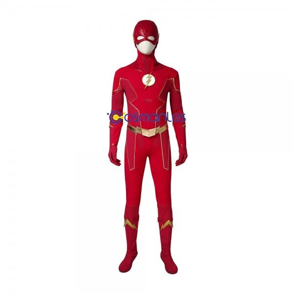 The Flash Cosplay Costume Barry Allen Season 6 Cosplay Suit