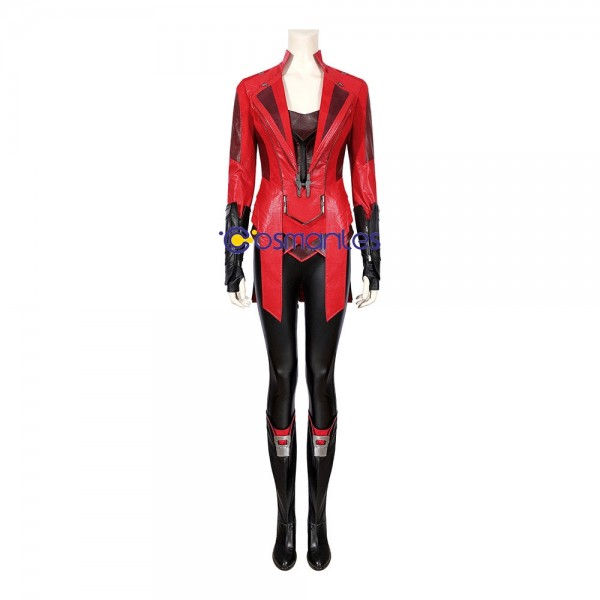 Scarlet Witch Cosplay Costumes Captain America Cosplay Suit