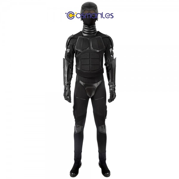 The Boys S2 Cosplay Costume Black Noir Top Level Cosplay Suit