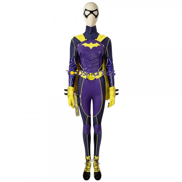 Batgirl Ver.2 Cosplay Costumes Gotham Knights Artificial Leather Cosplay Suit
