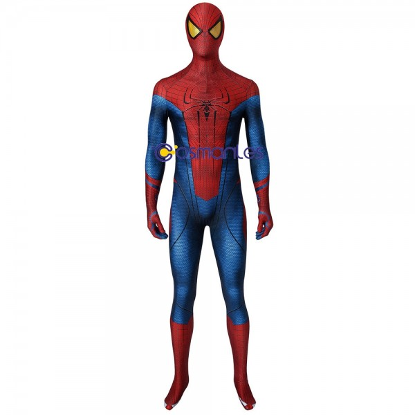 Peter Parker Suit The Amazing Spider-Man Cosplay Costume