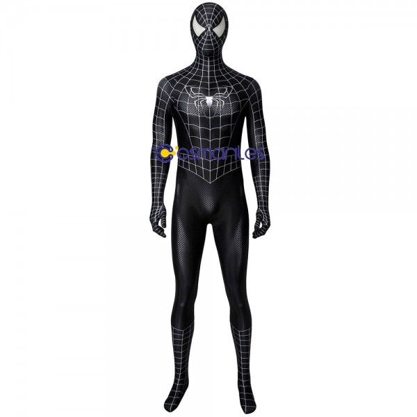 Eddie Block Black Venom Cosplay Costume Spider-man Suit