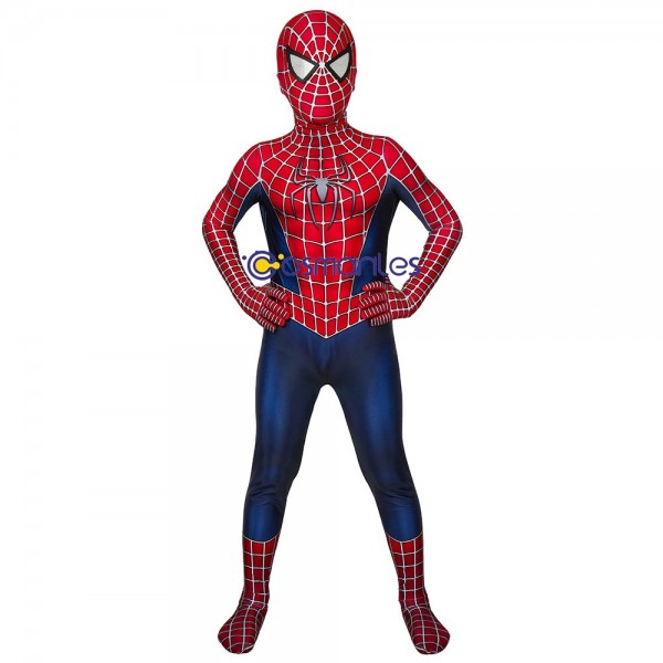 Kids Spider-man Cosplay Suit Spider-man Tobey Maguire Cosplay Costume