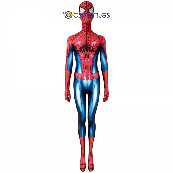 Female Spider-man Cosplay Suit Tobey Maguire Woman Spandex Cosplay Costume