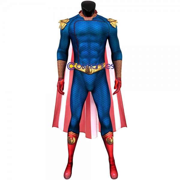 The Boys S2 Spandex Cosplay Suit The Homelander 3D Printed Cosplay Costume