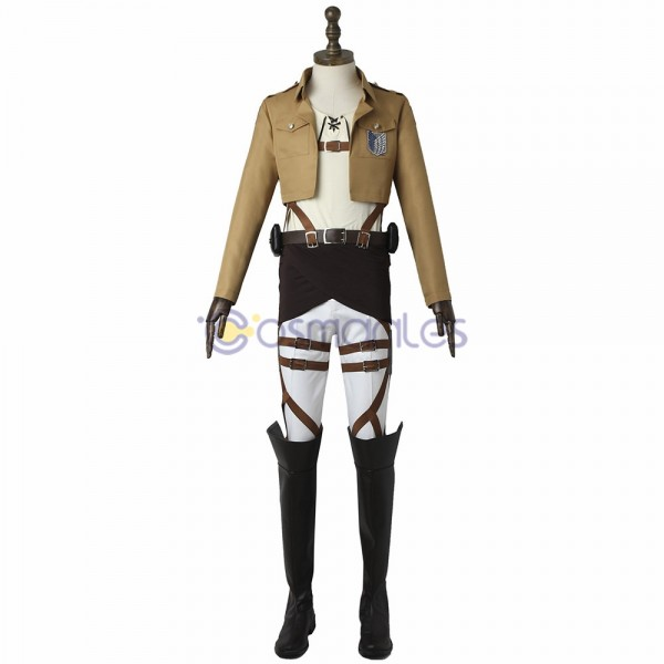 Eren Yeager Cosplay Costumes Attack On Titan Suit