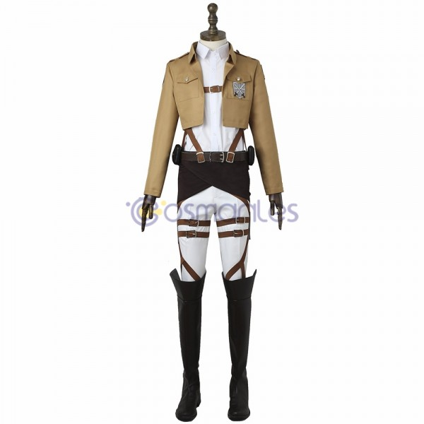 The Survey Corps Cosplay Costumes Attack On Titan Suit
