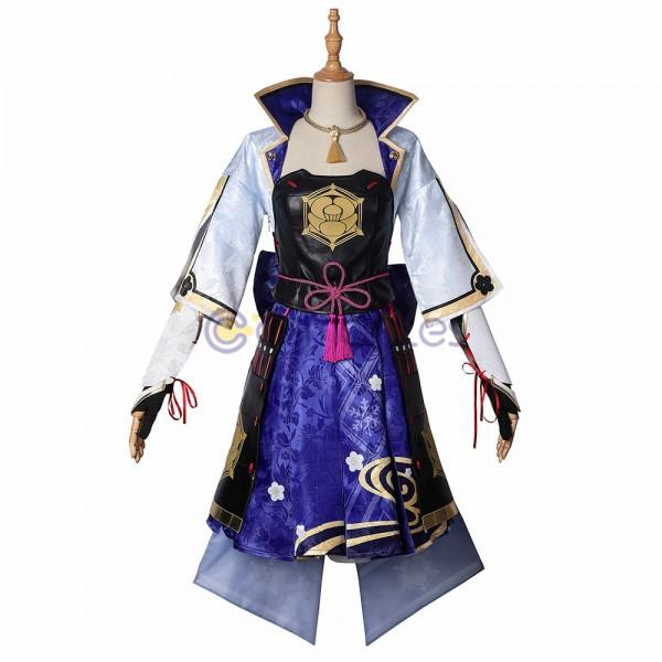 Ayaka Cosplay Costumes Genshin Impact Suit