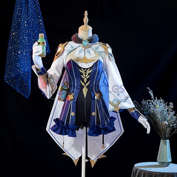 Genshin Impact Cosplay Costumes Sucrose Top Level Cosplay Suit