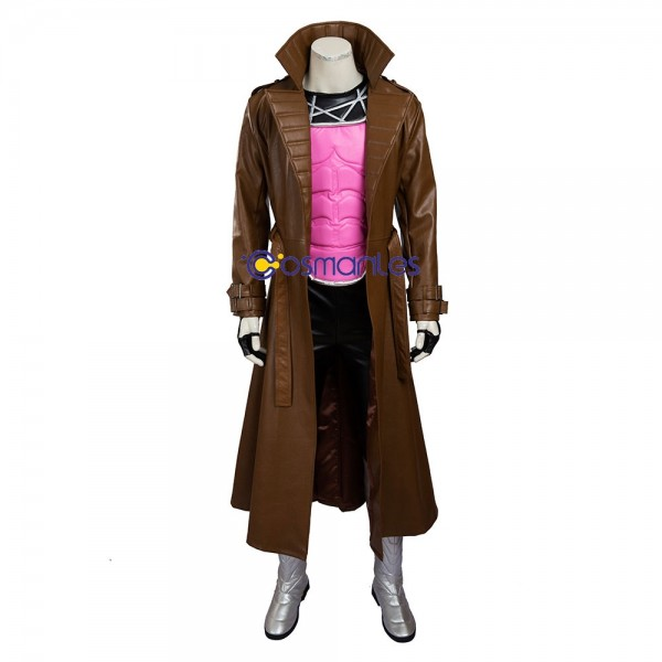 Gambit Remy Etienne LeBeau Cosplay Costume X-men Deluxe Edition