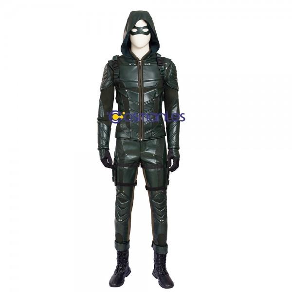 Oliver Queen Cosplay Costume Arrow Season 5 Cosplay xzw180087