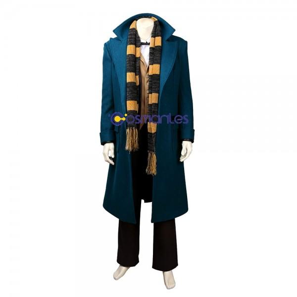 Newt Scamander Cosplay Costume Fantastic Beasts Edition