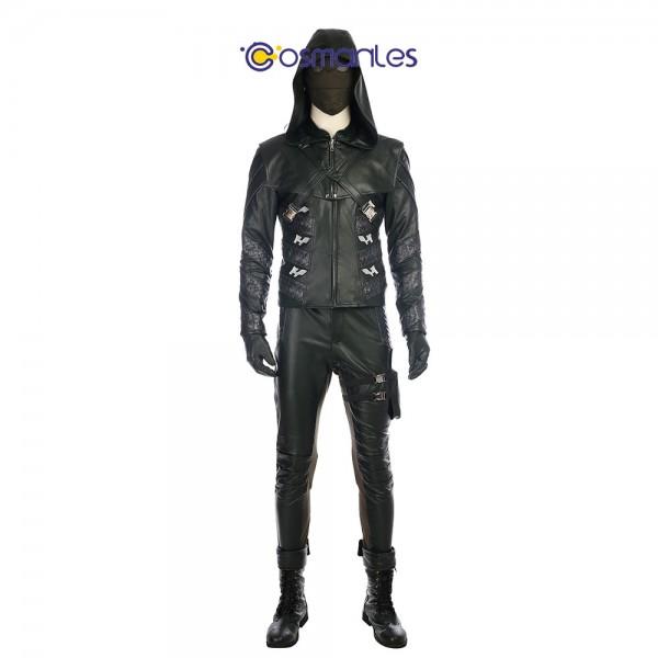 Prometheus Cosplay Costume Arrow Season 5 Quentin Lance Cosplay