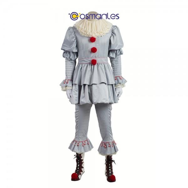 Pennywise Halloween Costume Stephen King's It Cosplay xzw180059