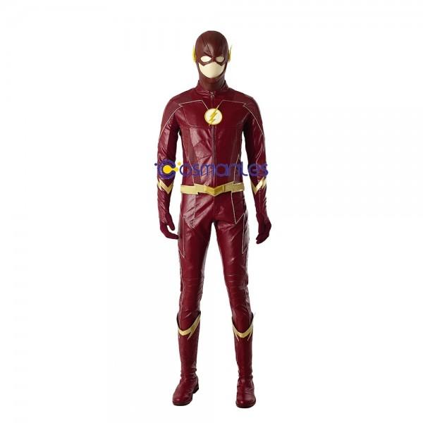 The Flash Cosplay Costume Barry Allen Season 4 Suit xzw1800146