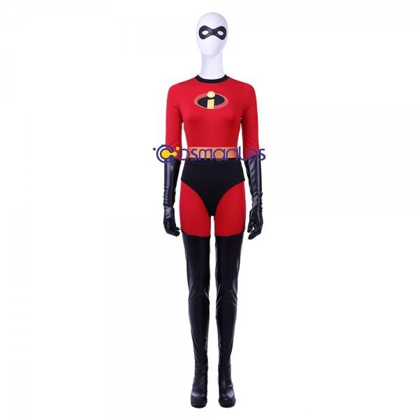 Elastigirl Helen Parr Cosplay Costume The Incredibles Edition