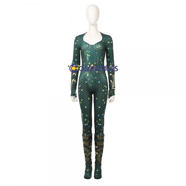Mera Cosplay Costume 2018 Aquaman Movie Costumes xzw1800169