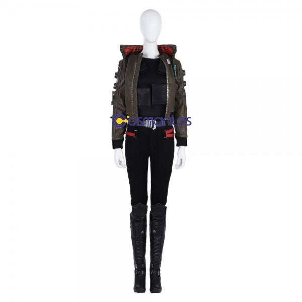 Cyberpunk 2077 Cosplay Costume Female Jacket Cosplay Costumes