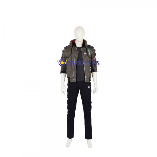 Cyberpunk 2077 Mens Jacket Cosplay Costume Deluxe Edition