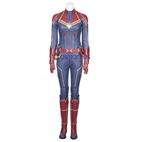 Captain Marvel Costume Avengers Endgame Carol Danvers Cosplay xzw1800166