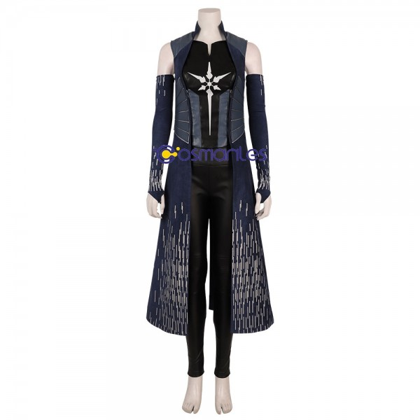 Killer Frost Cosplay Suit Artificial Leather Caitlin Snow Costume The Flash 6 Edition