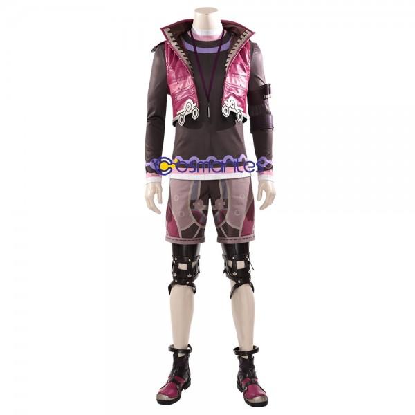 Xenoblade Shulk Costume XC2 Shulk Cosplay Red Suit Xzw00342