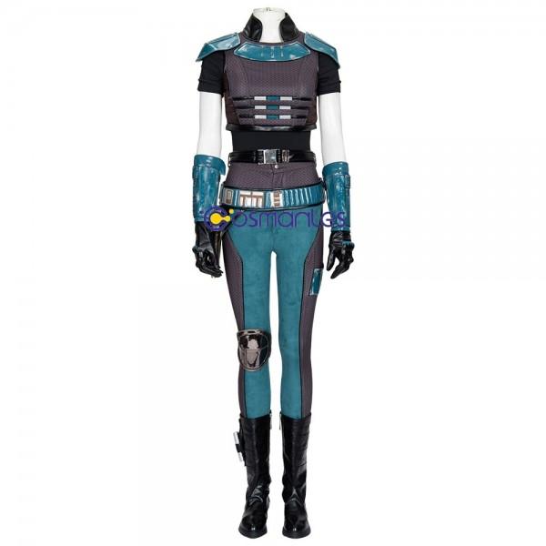 The Mandalorian Cara Dune Cosplay Costumes Star Wars Cara Cosplay Suit