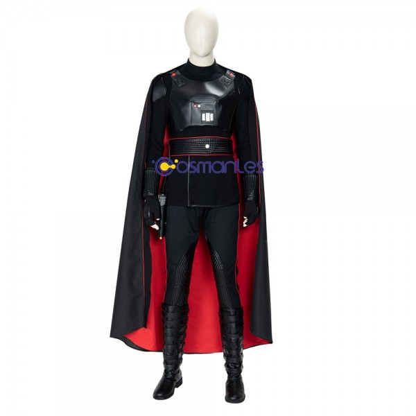 Moff Gideon Cosplay Costume The Mandalorian Black Artificial Leather Cosplay Suit
