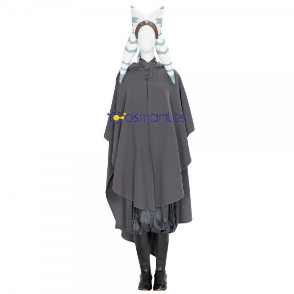 Ahsoka Tano Cosplay Costumes Star Wars The Mandalorian Cosplay Suit