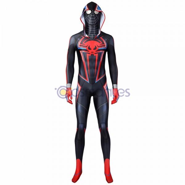 Spider-Man Miles Morales PS5 Spandex Printed Cosplay Costume