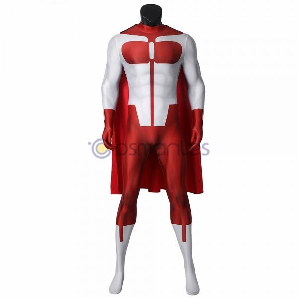 Nolan Grayson Cosplay Suit Invincible Omni-Man Spandex Printed Cosplay Costume