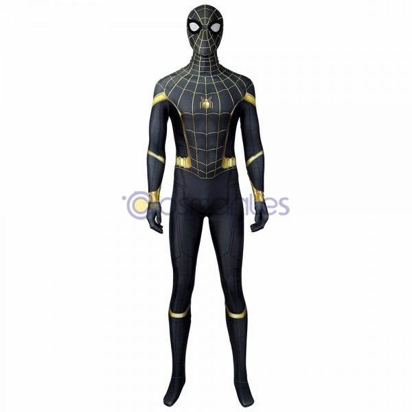 Spider-Man 3 No Way Home Peter Parker Spandex Printed Cosplay Costume