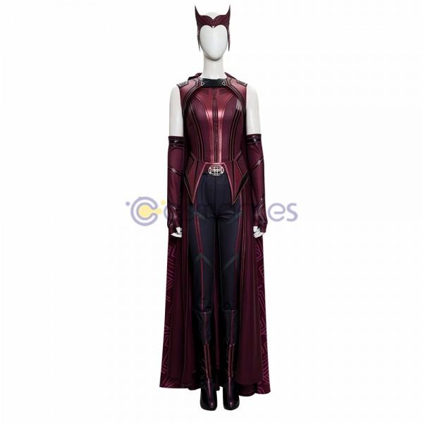 WandaVision 2021 Cosplay Costumes Wanda New Top Level Cosplay Suit
