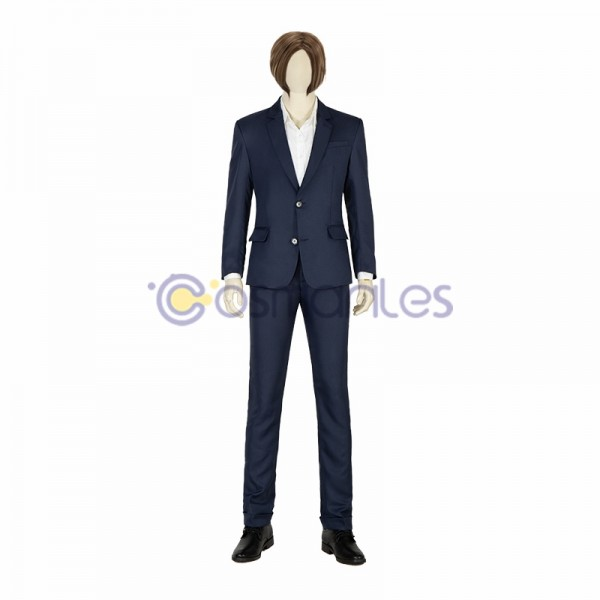 Leon Scott Kennedy Cosplay Costumes RESIDENT EVIL Infinite Darkness Top Level Cosplay Suit