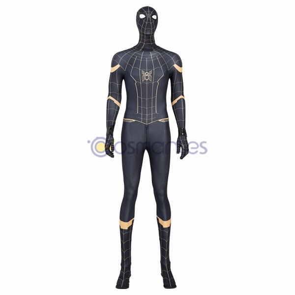 Spider-man No Way Home Cosplay Costumes Peter Parker Cotton Suits
